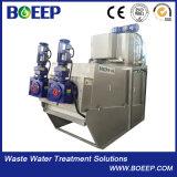 Компактность винт обезвоживания осадков для воды