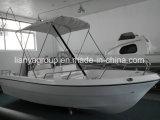 Liya 500cm Barcos de pesca esportiva de fibra de vidro fabricados na China