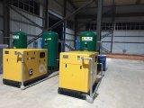 75kw el ahorro de energía del compresor de aire de tornillo rotativo con el inversor y el motor de PM