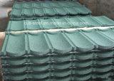 El azulejo de material para techos del fabricante/mezcló el azulejo de material para techos revestido de piedra del color