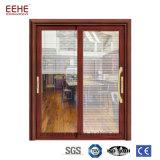 シャッターが付いているアルミニウム粉の上塗を施してあるドア、健全な絶縁体のアルミニウムガラスドア