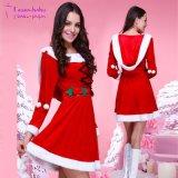 2017 L'arrivée du commerce de gros de fantaisie robe sexy de l'inspiration Santa Claus