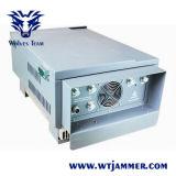GSM 3G 4G 6バンド530W刑務所のシグナルの妨害機(600mまで詰め込む無線制御システムと)