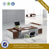 Poste de travail en bois de partition de bureau de portées des meubles 6 (HX-TN179)