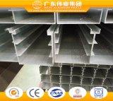Profil aluminium de haute qualité pour mur rideau faite en usine chinoise