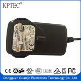36W 15V 2.4A de Adapter van AC/DC met Ce- Certificaat (RoHS, efficiencyniveau VI)