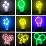 60W LED 백색 색깔 이동하는 맨 위 반점 빛 Gobo 빛