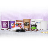 Tazze di carta stampate Customerized all'ingrosso del caffè