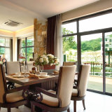 Glas Sunrooms met Lage die Prijs in Foshan wordt gemaakt