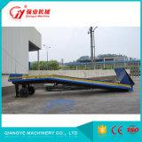 La rampa de carga de camiones profesional
