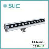 Solo Color 36W bañador de pared LED de la caja de plata