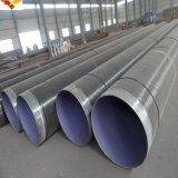 Tubo d'acciaio rivestito d'acciaio del tubo X65 Sawh di Psl-2 SSAW