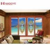 Алюминиевая раздвижная дверь с Низким-E стеклом для балкона