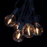 18 FT 10 fiches femelles G40 Les ampoules GLOBE String lumière LED pour décoration Terrasse parti
