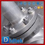 Нормальный вентиль нержавеющей стали стержня европейского качества Didtek поднимая