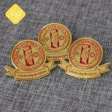 중국 공장 승진을%s 다색 접어젖힌 옷깃 Pin