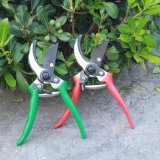Все стальные обойти Pruning ножницы с ручкой красного цвета