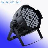3W 54ПК на базе алюминия RGBW LED PAR лампа