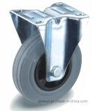 Roue en caoutchouc gris avec le roulement à rouleaux