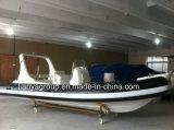 Liya 6.2m de Boot van pvc van de Boot van de Rib van de Vissersboot