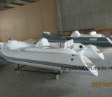 Liya 11ft costela chineses Barco com casco de fibra de barcos infláveis Rígidos