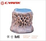 Altavoz de madera del jardín de la dimensión de una variable de la venta caliente de C-Yark