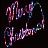 Decoração de Natal no exterior Rua LED Luz Motif