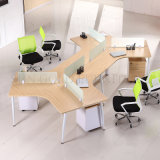 Attraktive Konstruktionsbüro-Möbel für die 2 Arbeitsplatz-abmontierbare Partition (SZ-WST742)