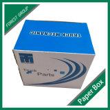Casella di carta stampata marchio blu-chiaro del LED