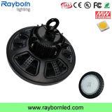Alta luz impermeable industrial IP65 100W 200W de la bahía del UFO LED