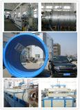 大口径のHDPEの空の壁の螺線形の巻上げの管の生産ライン