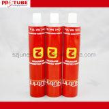 Tubi impaccanti crema di colore di alluminio dei capelli