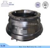 De hoge Concave Delen van de Maalmachine van de Kegel van het Mangaan Minyu115 en Mantel