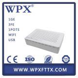 Gpon FTTX 1ge+3fe + 1FXS + WiFi ONU