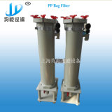 De enige die Filter van de Zak in Industrie van de Oplossing van het Plateren wordt gebruikt