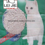 Maca de gato Eco-Friendly do Bentonite livre de poeira branco natural da cor
