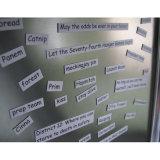 A poesia relativa à promoção exprime o vinil magnético da impressão da etiqueta do refrigerador