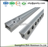 Extrusión de Aluminio brillante Lavado de pared Caja de luz