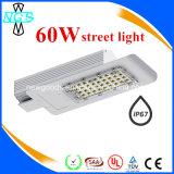 Al aire libre de alta calidad, de 60 vatios de luz de carretera Calle luz LED
