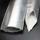 Umhüllender Wärme-reflektierendes Aluminiumfiberglas-Hochtemperaturdraht
