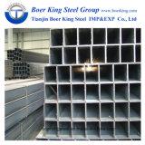 Q195, Q235, Q345, S235 S355, ASTM A500 Tubo de acero cuadrado