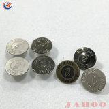 製造の価格の一義的なカスタムロゴの金属のジーンズボタン