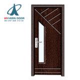 方法は防音の引き込み式のフランスの固体内部の木製のドアを前ハングさせた