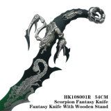 Capricorneのクラフトの剣の想像のナイフの室内装飾HK108001s