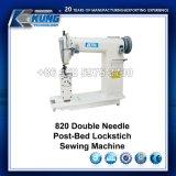 La aguja doble Post-Bed Lockstitch máquina de coser