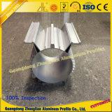 Profils en aluminium de tailles importantes faites à l'usine pour industriel