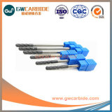 2018 Four Flutes Solid Carbide Flat End Mill