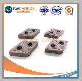 carboneto de tungsténio sólido rodando insere Apkt Dnmg Ccmt