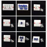 ABS утюживут/медная материальная стенная розетка (W-081)
