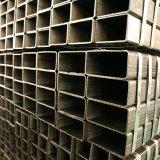 Tubo de acero del cuadrado laminado en caliente del carbón/tubos suaves del tubo de la sección negra rectangular de la depresión